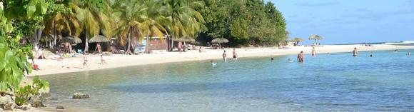 Magnifique plage de l'Anse des Rochers